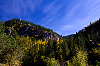 FALL COLORS IN SPEARFISH CANYON